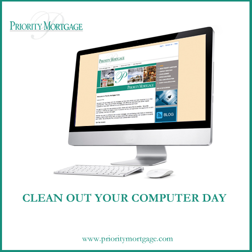 Monday february 11th is clean out your computer day there is a day