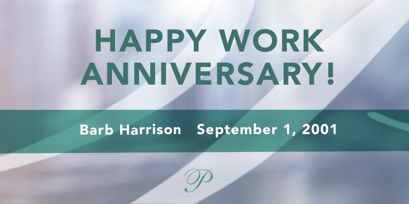 September 2018 work anniversaries
