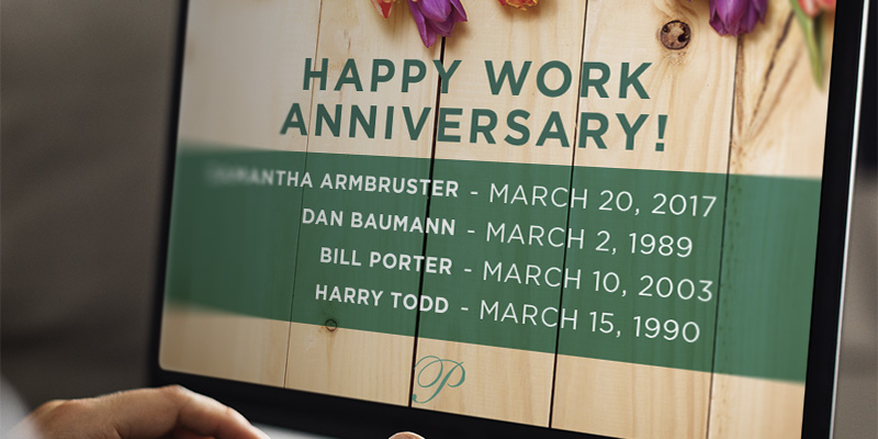 March 2019 Work Anniversaries