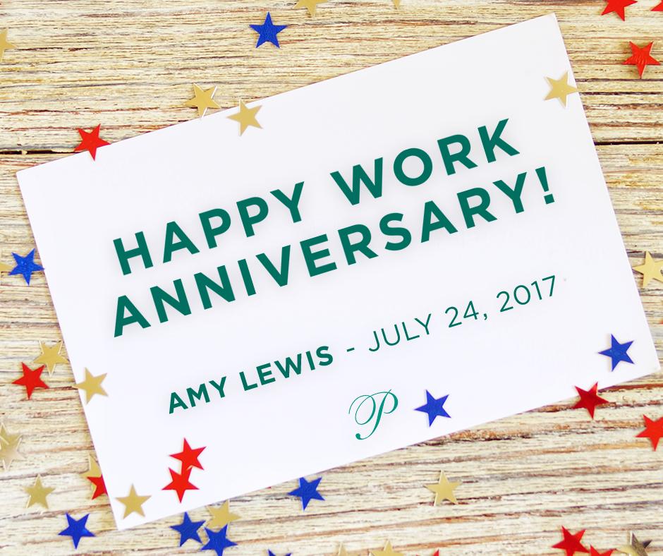 July 2019 Work Anniversary