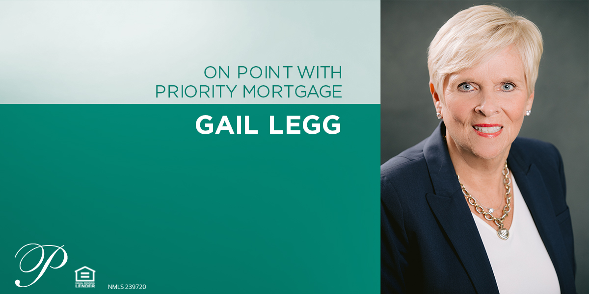 Insight on mortgage careers from Gail Legg.