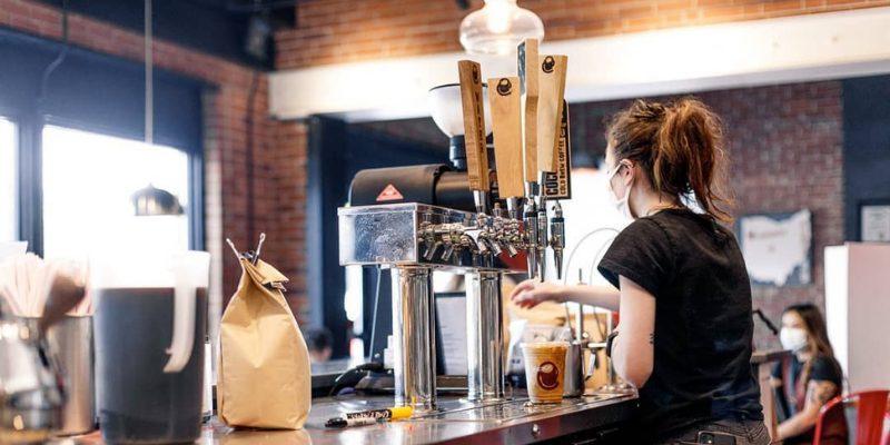 Crimson Cup Coffee Shop